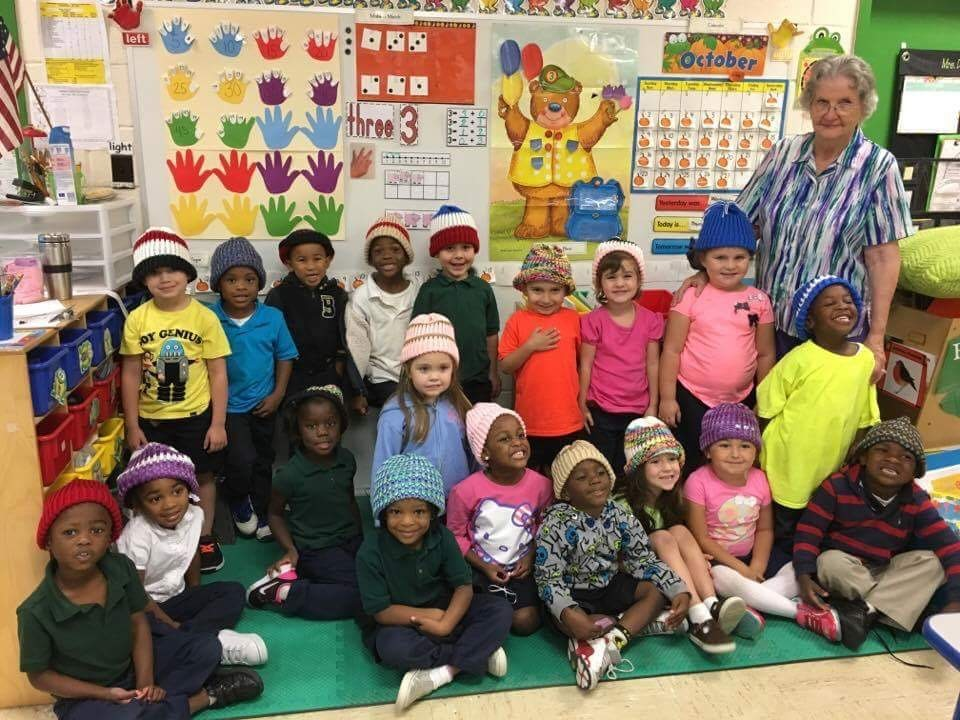 10-28-16 ges prek knitted hats mrs. dupont.jpg
