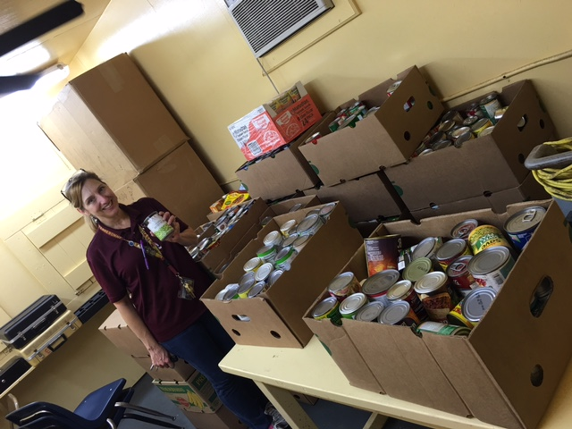 10-17-16 ths trick or treat canned goods collection.JPG
